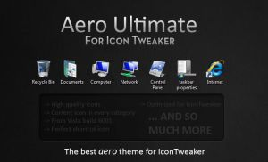 Aero Ultimate for IconTweaker by balderoine