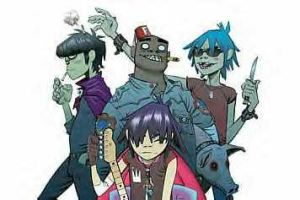 2D and Murdoc by ToriGurl