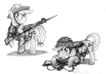 Applejack Military Uniforms, Part 1 by buckweiser