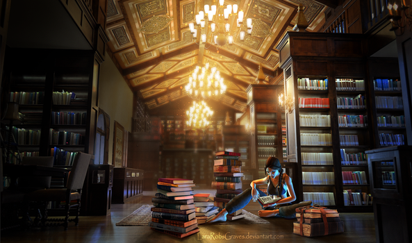Tomb Raider - Library Research by LaraRobsGraves