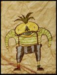 Pineapple man by tom-monster