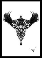 Gothic Rose Seraphim V1 by Quicksilverfury