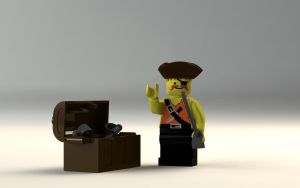 Lego pirate by king-of-rats