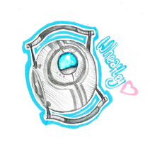 Little Wheatley! :3 by somedreamingstatE