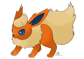 Flareon by dracolein