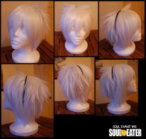 Soul Eater Evans casual Wig by DeathTripp