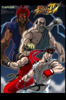 Street Fighter IV version 2 by levonn78