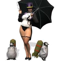 Lady Penguin by Chup-at-Cabra