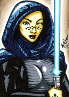 Sketch Card - Barriss commissi by gb2k