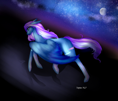 Run While You Can (Redo) +Speedpaint by dolphinMLP