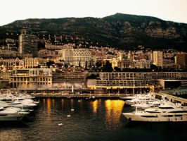 Port Of Monaco by ErinM2000
