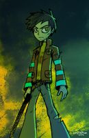 This guy thinks he is so cool by FalloutCat