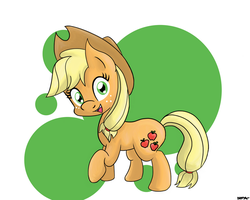 Applejack by NiggaBuySomeApples