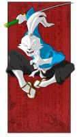 COLLAB - Usagi Yojimbo by happymonkeyshoes