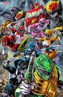 Power Rangers 2017 by WiL-Woods