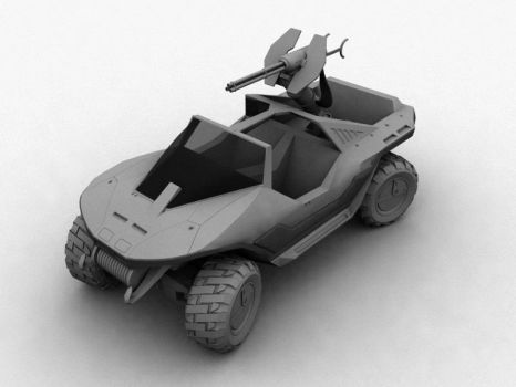 Halo - Warthog WIP by todd587