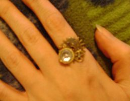 Steam Punk ring by sashabrambleshadow