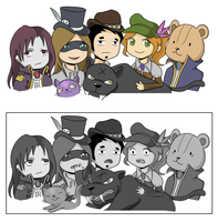 MapleStory - Group Photo by broccolistew