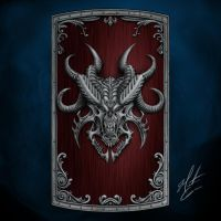 Demon Wall Shield Design by The-Undivine