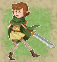 Elf Dipper by Fairy-Red-Hime