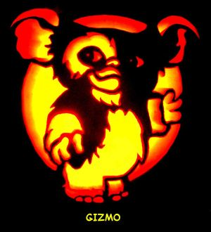 Gizmo Pumpkin Carving by Sleigher75 Sports Pumpkin Carving