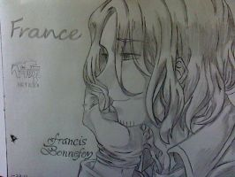 France- Francis Bonnefoy by FrozenMarquessa