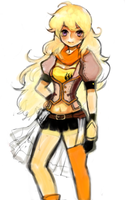RWBY-Yellow by orange8331