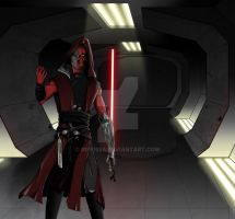 Sith Warrior by riff1986