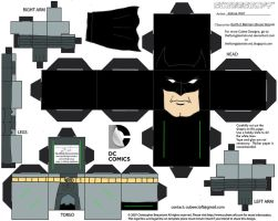 DCNU23: Earth-2 Batman Cubee by TheFlyingDachshund