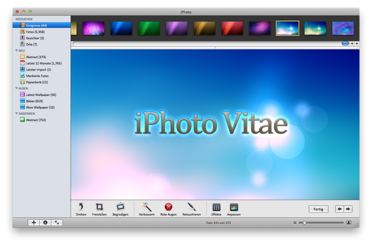 iPhoto Vitae by bl4ck-17