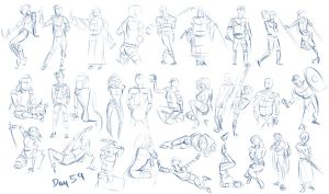 Figure exercises - Day 59 by Dante-mL