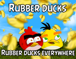 Rubber ducks everywhere by TBalazs2000