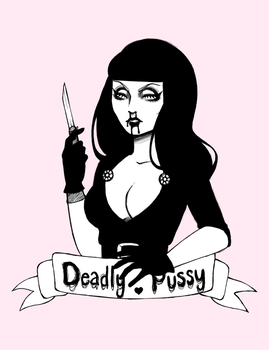 .deadly pussy. by gh0st-bunny