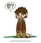 The Hobbit - Bilbo misses his handkerchief by caycowa