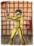 Damian Wayne is Kill Bill by orellanam