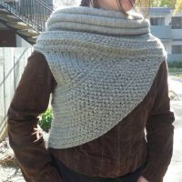 grey huntress cowl by MasterPlanner