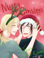 ** Merry Christmas 2012 ** by hyacinthess
