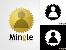 Mingle Logo Design by TheDrake92