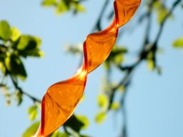 Orange Abstract by EveryDayIsNewToMe