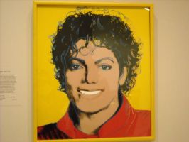 michael jackson by andy warhol by JinxdaHalloweenQueen