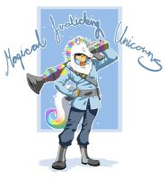 TF2: Unicorn Soldier by xCopycat