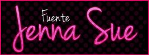 Funte Jenna Sue .-Font by Movimientodealegria