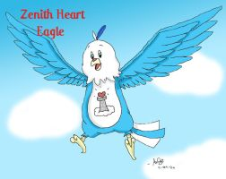 Zenith Heart in Flight by Milayou