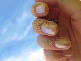 Sandy nails by Santian69