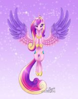 Princess Cadance by LaurenMagpie