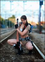 Lara Croft - - Legend 1 by PartWish