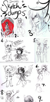 [Alot of Groups] - SKETCH DUMP 5 by Daii--Chan