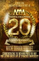 20th Anniversary Flyer by V1sualPoetry