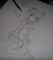 Hatsune Miku(On-process) by Suzakuro