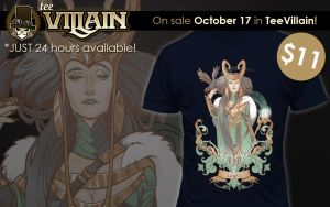 Lady Loki in TeeVillain by Medusa-Dollmaker